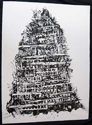 Babel an art print by Arthur Secunda
