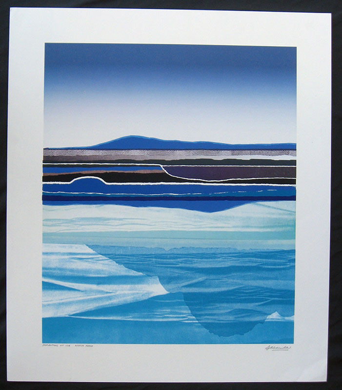 Reflections on Ice by Arthur Secunda special price art print sale